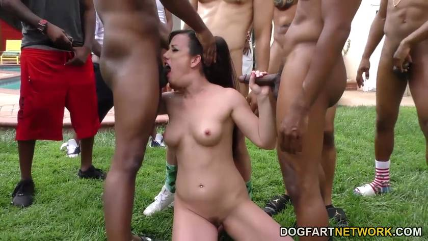 Group clit play asshole